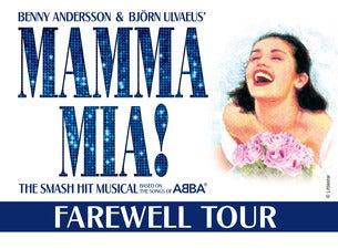 Mamma Mia Broadway Tour Schedule