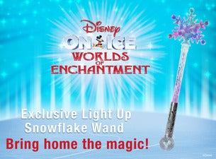 Disney On Ice! Worlds of Enchantment Snowflake Wand