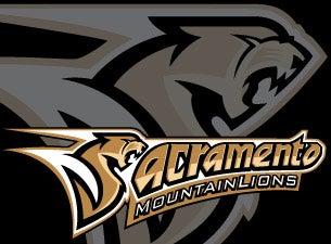 Sacramento Mountain LionsTickets