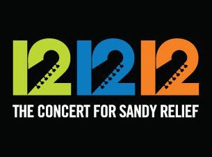 12.12.12 - The Concert For Sandy Relief Tickets