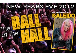 Nye Ball At the Hall Tickets