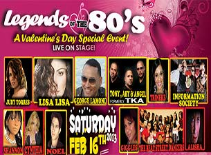 Legends Of The 80'sTickets