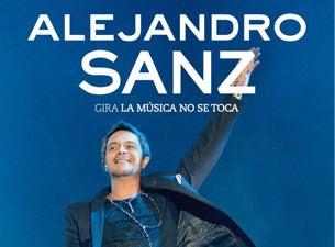 Alejandro SanzTickets