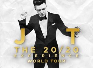 Justin timberlake tour dates