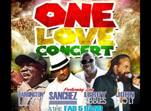 One Love ConcertTickets