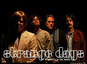 Strange Days - a Tribute To the Doors Tickets  sc 1 st  Ticketmaster & Strange Days - a Tribute To the Doors Tickets | Strange Days - a ...