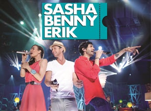Sasha, Benny, ErikTickets