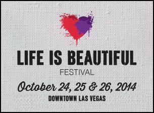 Life Is Beautiful FestivalTickets
