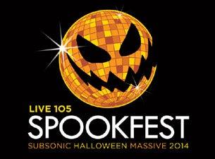 Live 105's Subsonic Halloween SpookfestTickets
