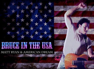 Bruce in the USA Tickets