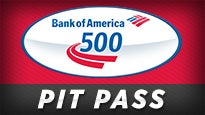 Bank of America 500 Pre-Race Pit Pass