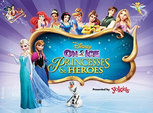 Disney On Ice presents Princesses & Heroes Tickets