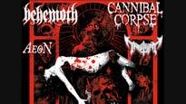 Cannibal Corpse & Behemoth at Jannus Live