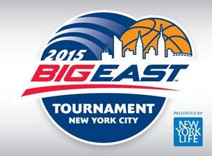 BIG EAST Men's Basketball TournamentTickets
