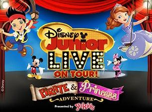 Disney Junior Live On Tour! Pirate & Princess Adventure Presented by Stonyfield YoKids Organic YogurtTickets