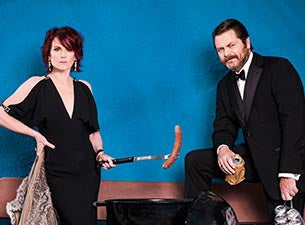 Megan Mullally and nick offerman show