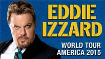 Eddie Izzard Force Majeure Tour at Temple Theater