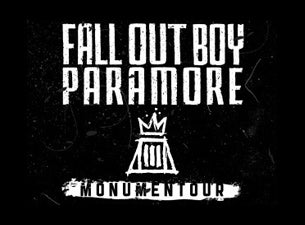 Monumentour: Fall Out Boy and ParamoreTickets
