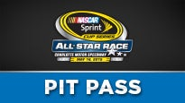 All-Star Pre-Race Pit Pass at Charlotte Motor Speedway