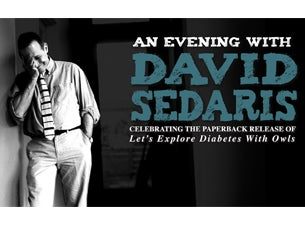 David SedarisTickets