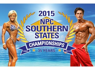 NPC Southern States Bodybuilding Championships Tickets
