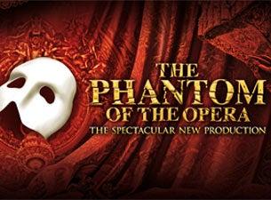 Phantom Of The Opera Tour Schedule