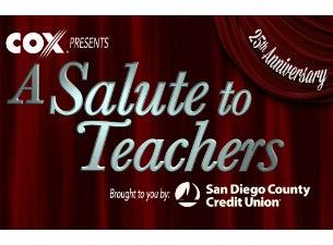 A Salute To Teachers