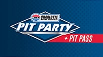 Bank Of America 500 Pre-Race Pit Pass & Pit Party