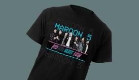 Maroon  Tour Ticketmaster