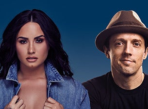 Demi Lovato and Jason Mraz