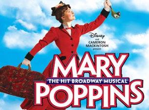 Ticketmaster coupon mary poppins
