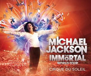 Michael Jackson THE IMMORTAL World Tour by Cirque du SoleilTickets
