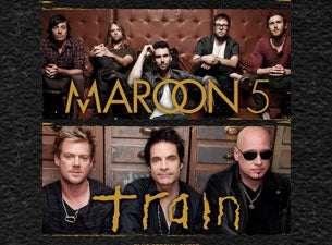 Maroon 5 and TrainTickets