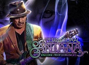 Supernatural Santana: A Trip Through the Hits Tickets ...