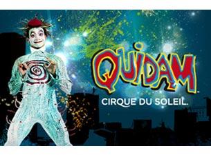 Cirque du Soleil : QuidamTickets