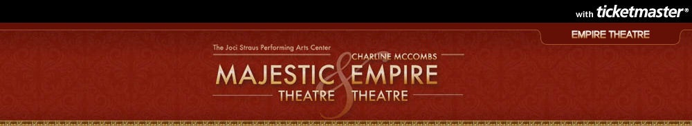 Charline McCombs Empire Theatre Tickets