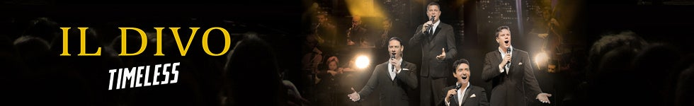 Ticketmaster promotions il divo vip packages available now m4hsunfo