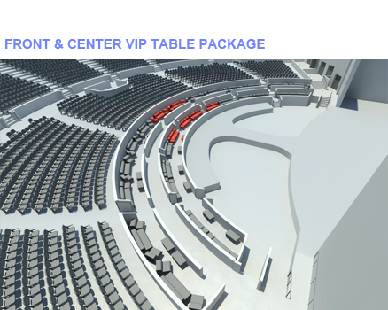 Front & Center VIP Table Package