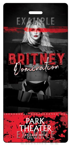 Britney Spears Ticket