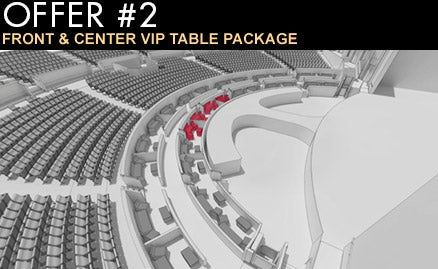 Britney spears piece of me tour package 2 front center vip table package m4hsunfo