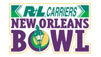 R+L Carriers New Orleans Bowl logo