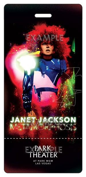 Janet Jackson Ticket