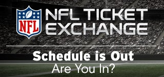NFL Ticket Exchange. Schedule is Out. Are You In?