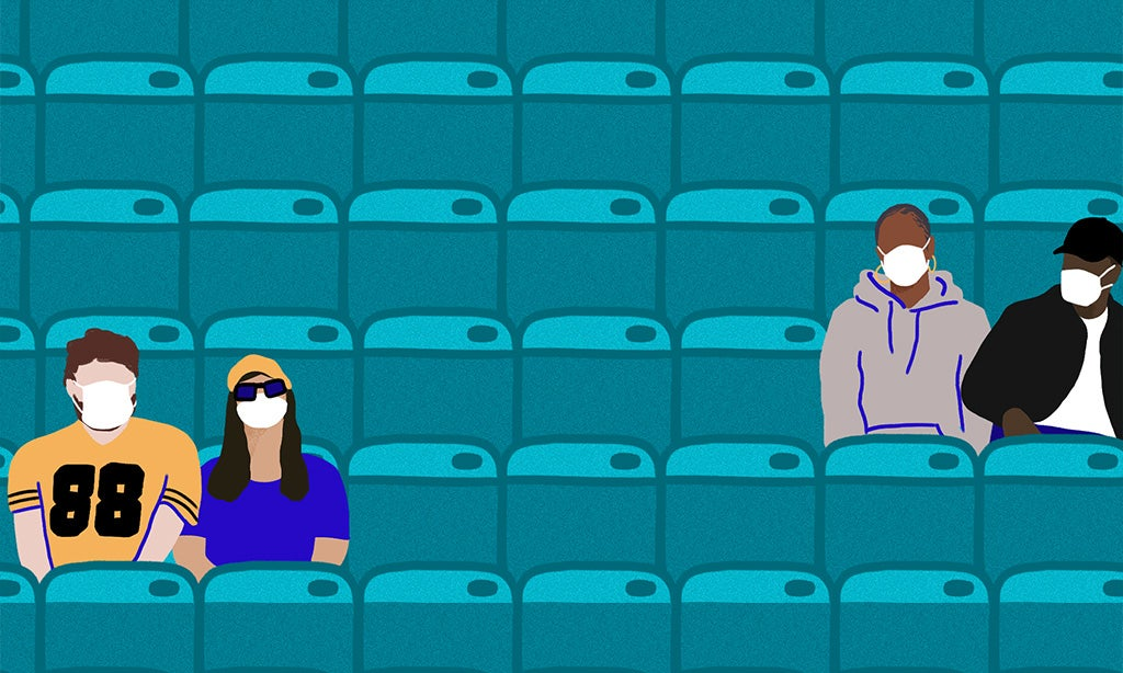 How Pod Seating Helps Keep Fans Safe