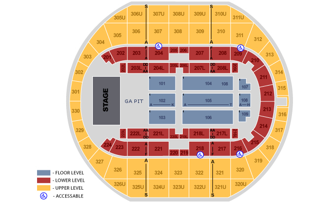 Von braun center arena huntsville tickets schedule seating