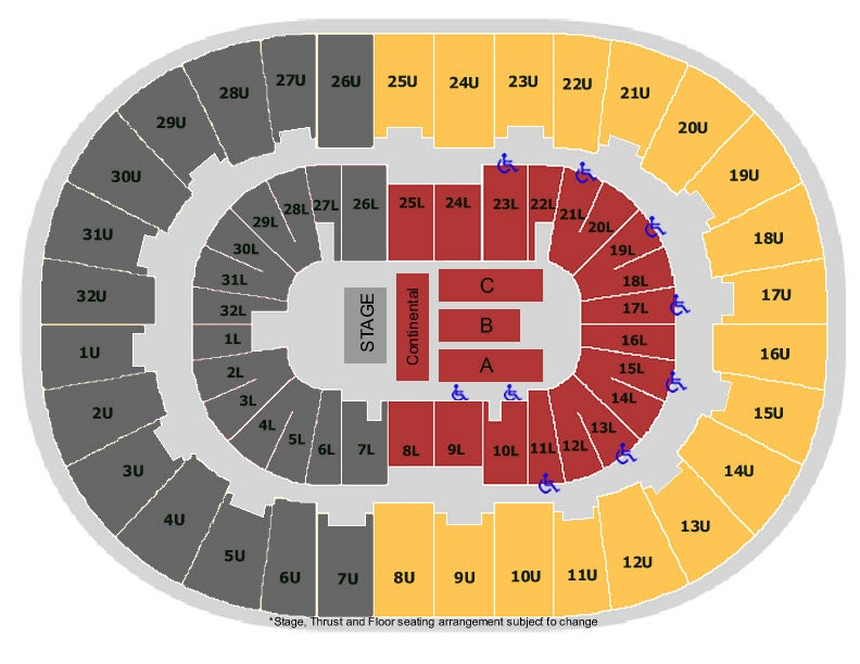 Legacy arena at the bjcc birmingham tickets schedule seating