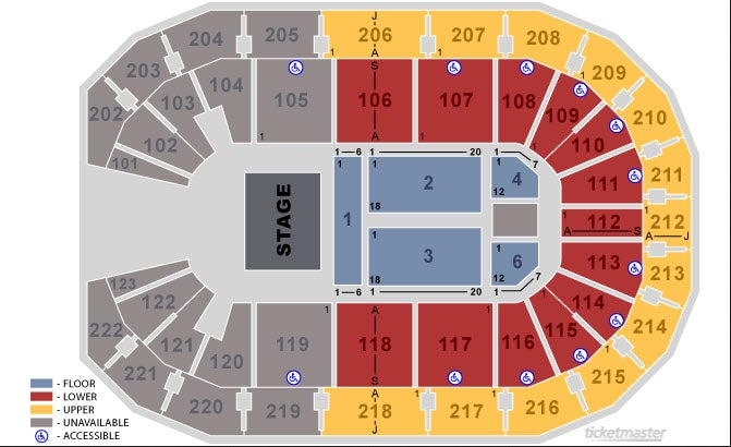 Landers center southaven tickets schedule seating chart