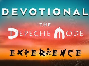 Devotional - The Depeche Mode Experience Boletos