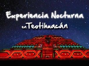 Experiencia nocturna en teotihuac n boletos fechas y Espectaculo de luces teotihuacan 2018