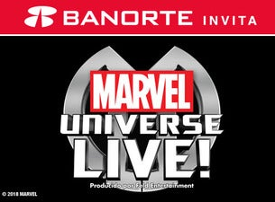 Marvel Universe LIVE! Boletos